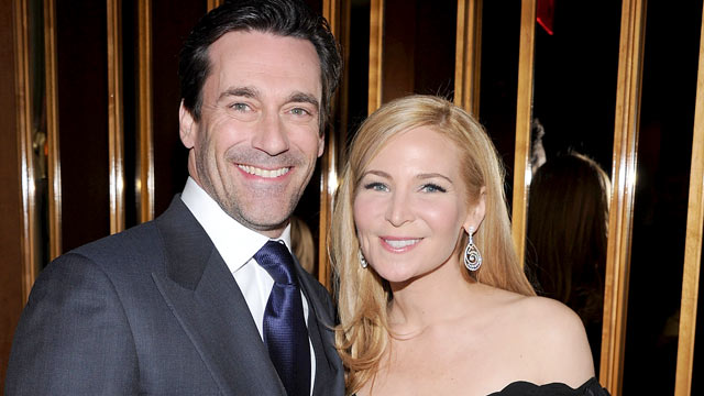 "PHOTO: Jon Hamm and Jennifer Westfeldt attend the after party for the Cinema Society & People StyleWatch screening of ""Friends With Kids"" at the The Top of The Standard in this March 5, 2012 file photo in New York City."