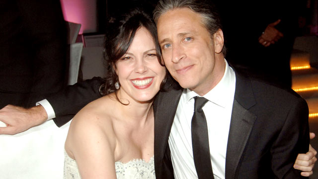 PHOTO: Jon Stewart, Tracey Lynn Stewart, are seen at The 78th Annual Academy Awards, Governor's Ball, Los Angeles, March 5, 2006.