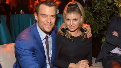 PHOTO: Actor Josh Duhamel, left, and actress/singer Fergie attend the premiere of Relativity Media's &quot;Safe Haven&quot; after party at The Terrace At Hollywood & Highland, Feb. 5, 2013, in Hollywood, Calif.