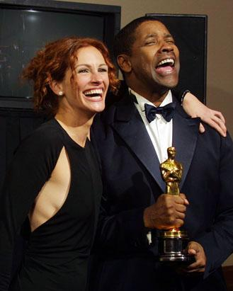 Backstage Moments at The Academy Awards