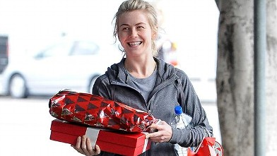 Julianne Hough Gets Into the Holiday Spirit