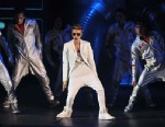 PHOTO: Justin Bieber performs live on stage at 02 Arena, March 4, 2013, in London.