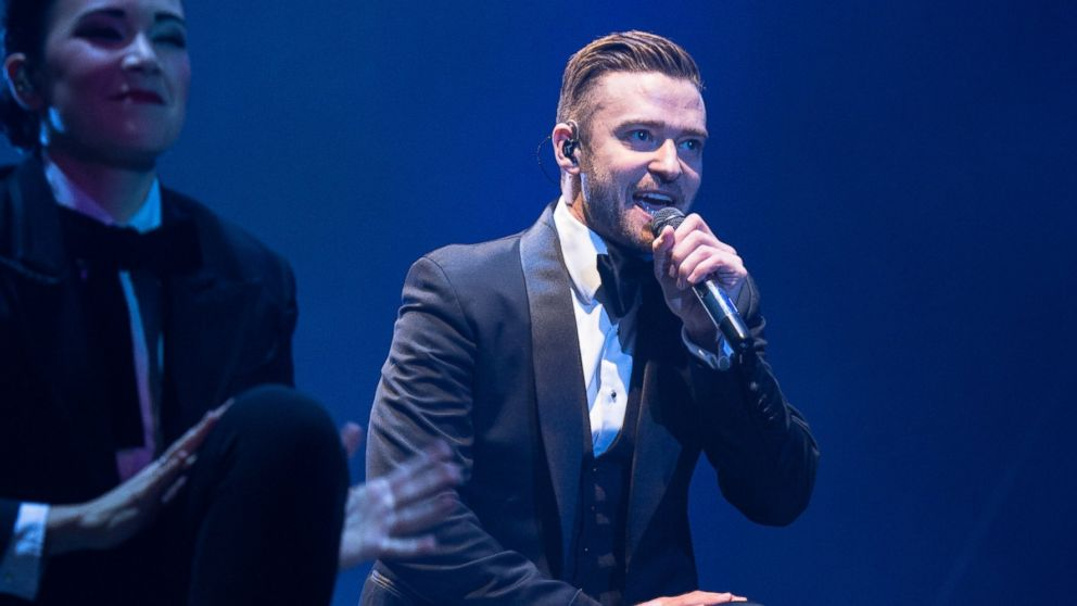 PHOTO: Justin Timberlake performs at Stade de France on April 26, 2014 in Paris, France.
