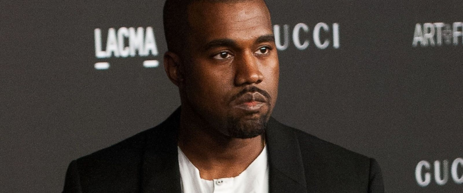 PHOTO: Recording artist Kanye West arrives for the 2014 LACMA Art + Film Gala in Los Angeles on Nov. 1, 2014.