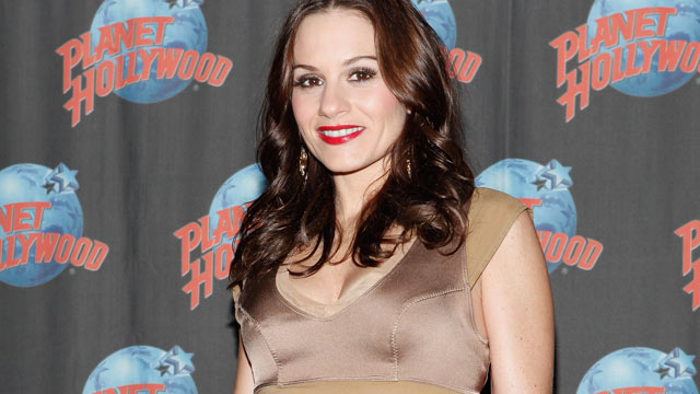 PHOTO: Television personality Kara DioGuardi visits Planet Hollywood Times Square on October 14, 2011 in New York City.