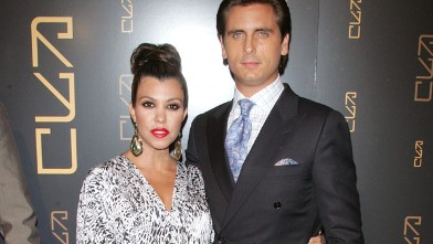 PHOTO: Kourtney Kardashian and Scott Disick attend the grand opening of RYU, Apr. 23, 2012, in New York City.