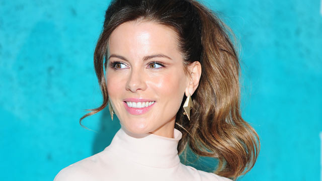 PHOTO: Kate Beckinsale poses in the press room at the MTV Movie Awards at Universal Studios in Los Angeles, Cali. on June 3, 2012.