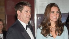 PHOTO: Kate Middleton Shows Off Her Bump For the First Time