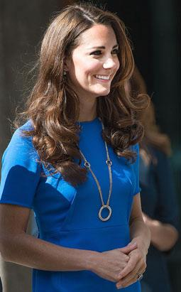 Kate Watches Wimbledon Men's Final Match
