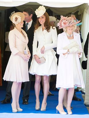 Kate Middleton Radiant in White