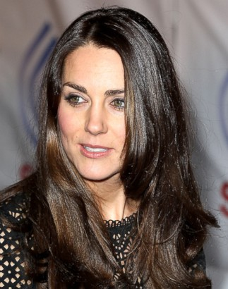 Check Out Kate Middleton's Darker 'Do!