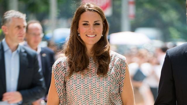 Kate Middleton Chic in Singapore