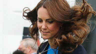 Kate Middleton Jumps in Wedges at the Commonwealth Games
