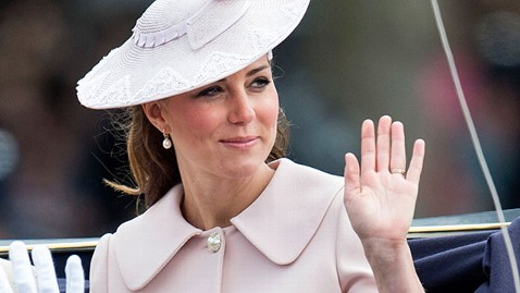 gty kate middleton mi 130617 wblog Duchess Kate Makes Last Public Appearance Before Royal Babys Birth