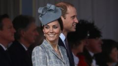 Pregnant Kate Middleton Steps Out with Prince William