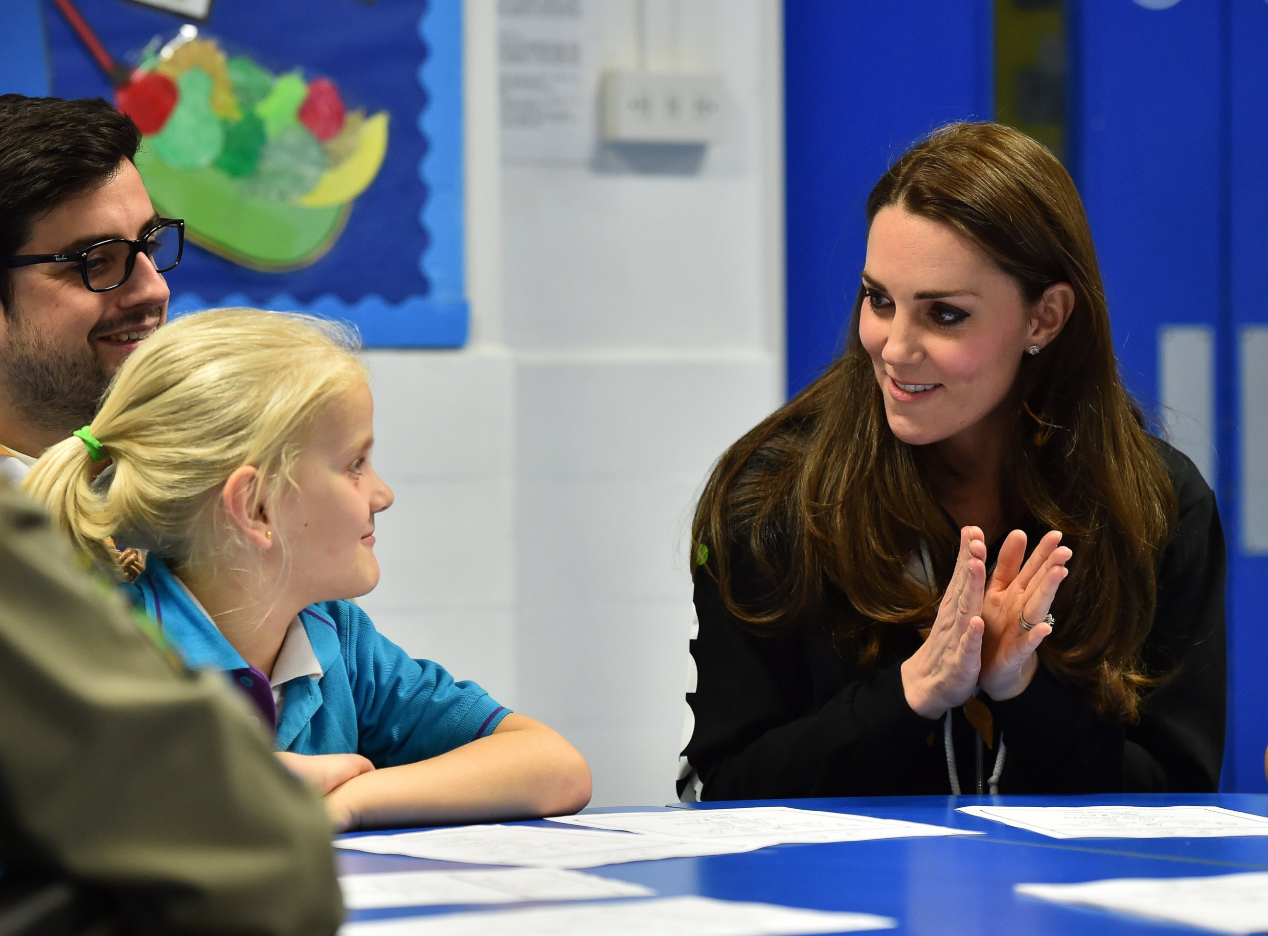 Kate Middleton Learns Sign Language