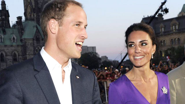PHOTO: Prince William, Duke of Cambridge and Catherine, Duchess of Cambridge arrive for the Evening National Canada Day Celebrations in the capital accompanied by representatives of the National Capitol Commission, July 1, 2011, in Ottawa, Canada.