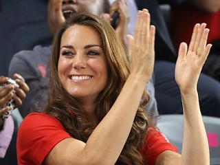 Photos: Kate Cheers On Paralympics Athletes