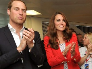 Photos: Will and Kate Cheer on Olympic Cycling Team