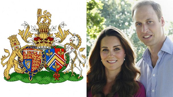 gty kate william crest nt 130926 16x9 608 Prince William and Kates Joint Royal Coat of Arms Unveiled