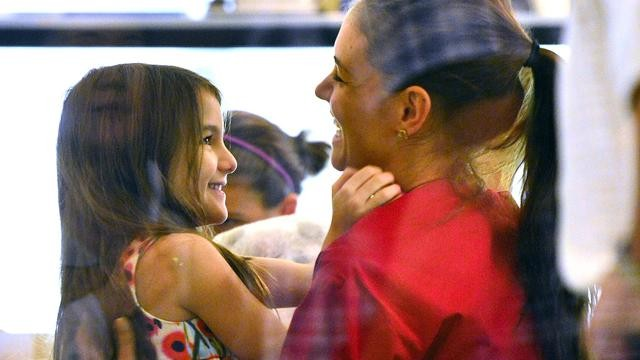 Katie Holmes Grim After Split
