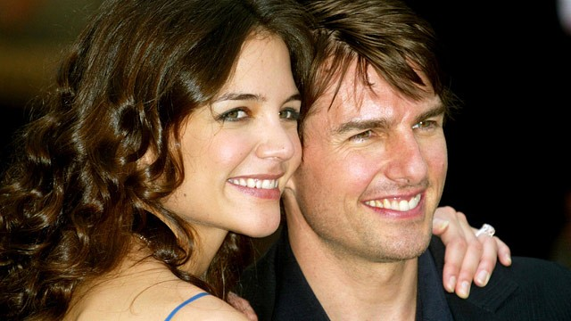 PHOTO: Katie Holmes and Tom Cruise are seen at