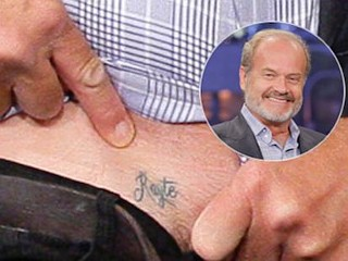 Photos: Kelsey Grammer's Tattoo For New Wife