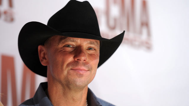 PHOTO: Kenny Chesney attends the 45th annual CMA Awards at the Bridgestone Arena, Nov. 9, 2011 in Nashville, Tennessee.