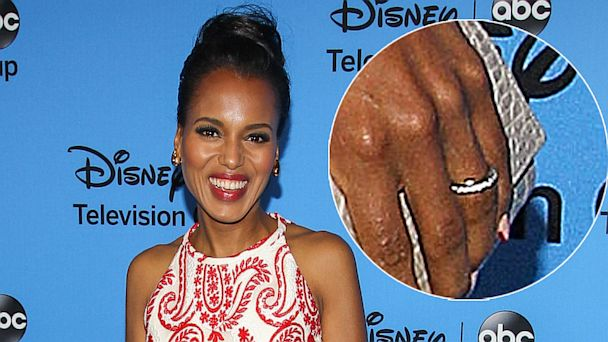 gty kerry washington mi 130805 16x9 608 Kerry Washington Reveals Her Beautiful Wedding Ring