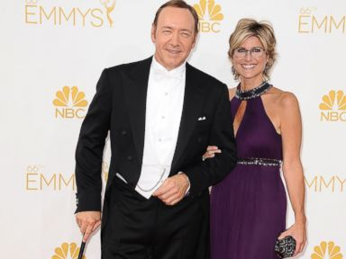 Why Kevin Spacey Showed Up to the Emmys With a Cane