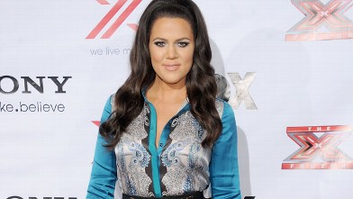 PHOTO: Khloe Kardashian arrives at FOX's &quot;The X Factor&quot; viewing party at Mixology 101 & Planet Dailies on Dec. 6, 2012, in Los Angeles.