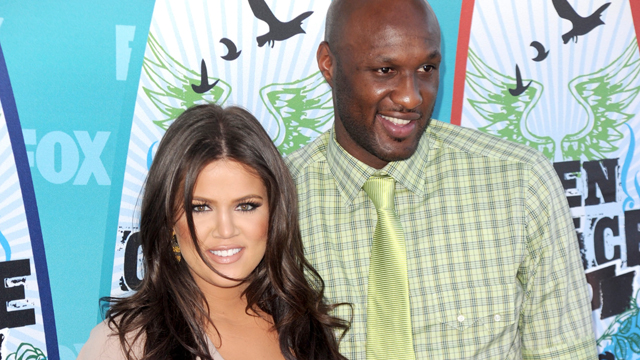 PHOTO: Lamar Odom and Khloe Kardashian