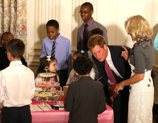 Prince Harry Tours the US