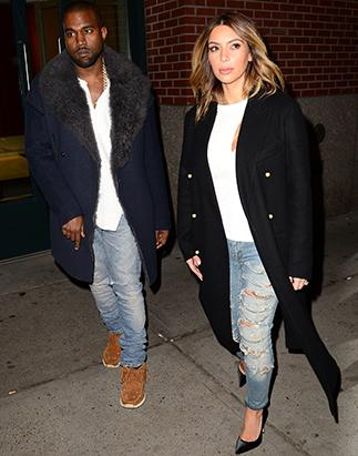 Kim Kardashian and Kanye West: So Matchy-Matchy!
