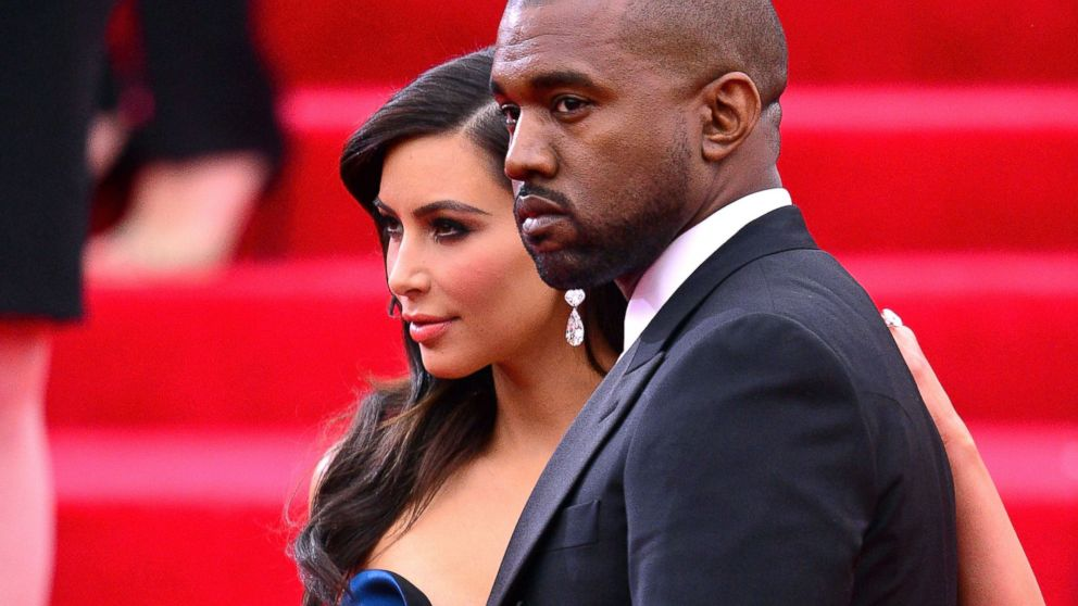 "PHOTO: Kim Kardashian and Kanye West attend the ""Charles James: Beyond Fashion"" Costume Institute Gala, May 5, 2014 in New York City."