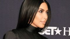 Kim Kardashian and Kanye West Match in All Black Everything