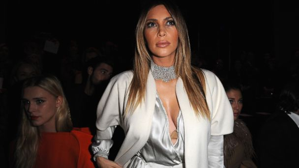 PHOTO: Kim Kardashian attends the Stephane Rolland show on January 21, 2014 in Paris, France.