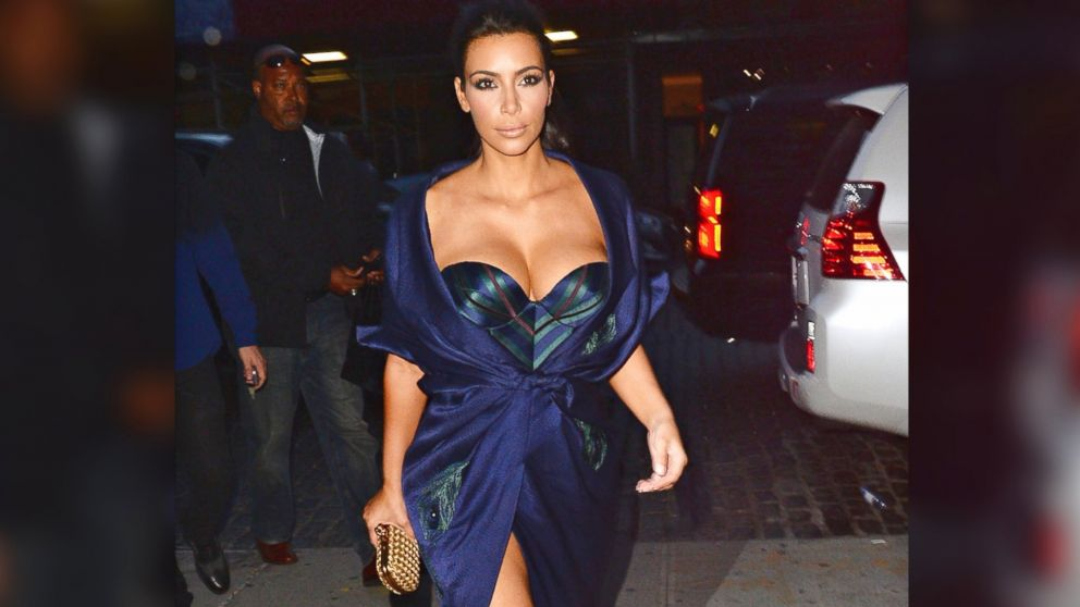 PHOTO: Kim Kardashian is seen in meatpacking district on June 27, 2014 in New York City.