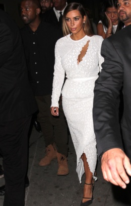Kim Kardashian and Kanye West: All Their Matching Ensembles