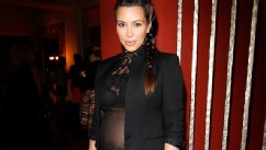 PHOTO: Kim Kardashian attends a celebration of Jennifer Meyer's CFDA Swarovski, May 11, 2013, in Los Angeles.