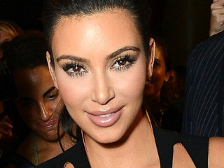 Photos: Kim Kardashian's Cutout Dress