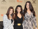 PHOTO: Kourtney Kardashian, Kim Kardashian and Khloe Kardashian Odom attend the photocall to launch the Kardashian Kollection for Dorothy Perkins at Westfield, Nov. 10, 2012 in London.