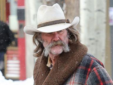 Kurt Russell Channels His Inner Cowboy