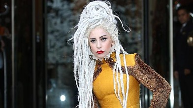 Lady Gagas Crazy New Do