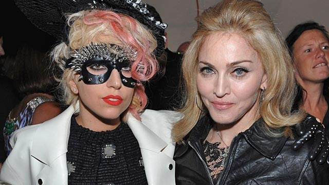 PHOTO: Lady Gaga and Madonna
