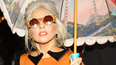 PHOTO: Lady Gaga is seen out and about, Nov. 4, 2011 in London, England.