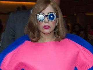 Photos: Lady Gaga's Oversized Dress