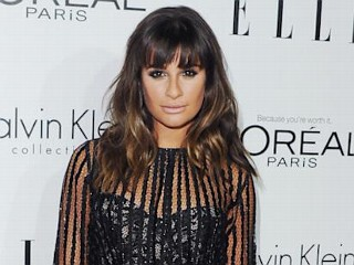 Photos: Glee Star Goes Daringly Sheer
