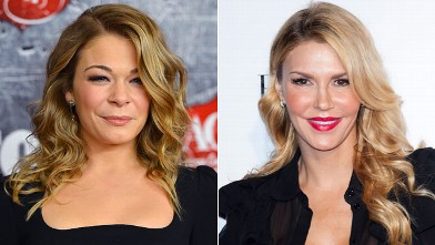PHOTO: Singer LeAnn Rimes arrives at the 2012 American Country Awards at the Mandalay Bay Events Center on Dec. 10, 2012 in Las Vegas, and right, TV personality Brandi Glanville attends the Beverly Hills Lifestyle Magazine Fall 2012 Launch Party at Kyle b