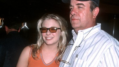 PHOTO: LeAnn Rimes and father are shown during 33rd Annual Country Music Awards Artists Reception at Country Star Restaurant in Los Angeles, Calif.
